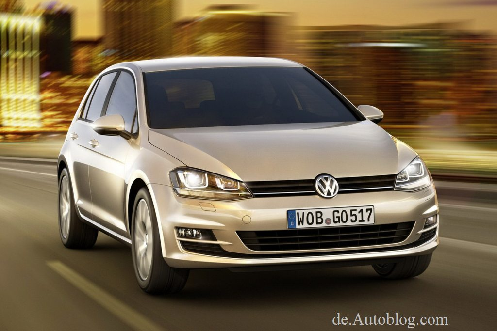 VW Golf VII, Golf VII, der neue VW Golf, VW Golf MK. VII, Premiere, Fotos, pics, VW Golf 2013, siebte Generation, Berlin, 