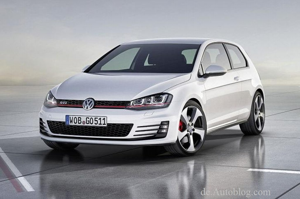 VW Golf VII, Mk. VII, VW Golf 7, GTI, VW Golf VII GTI, der neue VW Golf GTI, Bilder, Infos, Fotos, Auto Salon Paris, 