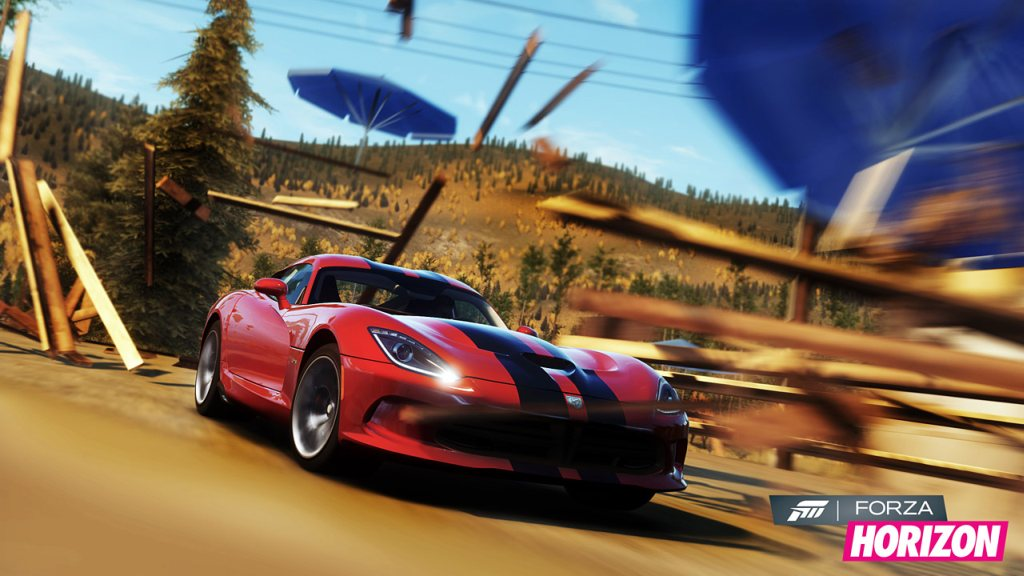 driving simulator, forza, forza horizon, turn 10, video, video game, video games, x Box, x box 360 microsoft, Simulation, Autorennen, need for speed, grid, E3 Demo, Trailer Launch-Trailer, Demoversion, Dodge SRT Viper, Rennsimulation