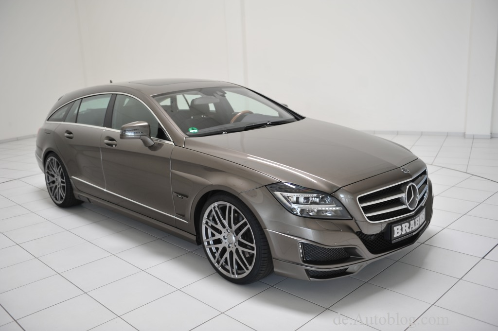  Mercedes-Benz, Tuner, Tuning, CLS Shooting Brake, Rad, Felge, Motor Tuning, BRABUS, Styling, Zubehr