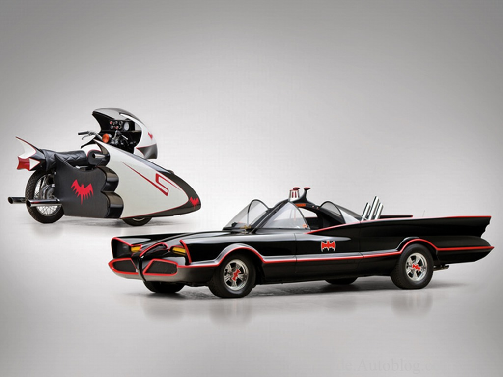 Batman, Batbike, Batcycle, Batmobile, Chevrolet, RM Auction, auktion, Batman, versteigerung, Black Knight, Bruce Baner, Bruce banner, auction,