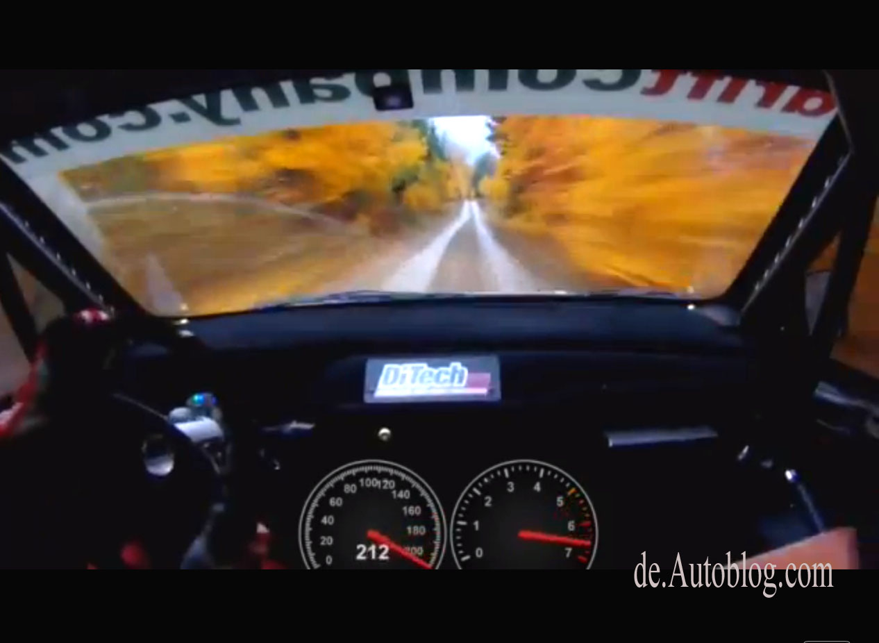 Waldviertel Rallye, Beppo Harrach, DiTech Racing, Video, forest, wald, 206 km/h, 212, km//h, rasende Fahrt, verrckt, irre,
