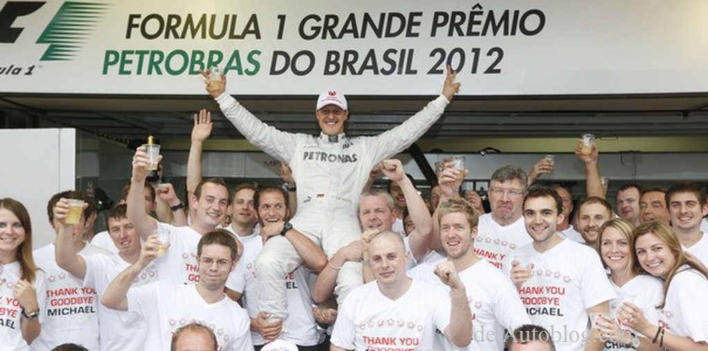 Schumacher, Abschied, Karriereende, Vettel, GP, Brasilien, fotos, Schumi, michael Schumacher, Silberpfeil, Mercedes