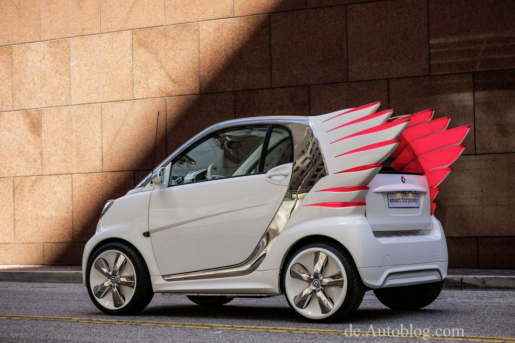smart, jeremy scott, LA auto show, smart electric drive, smart forjeremy, smart fortwo, avantgarde, mode,  Lady Gaga, Madonna, Katy Perry und Rihanna 