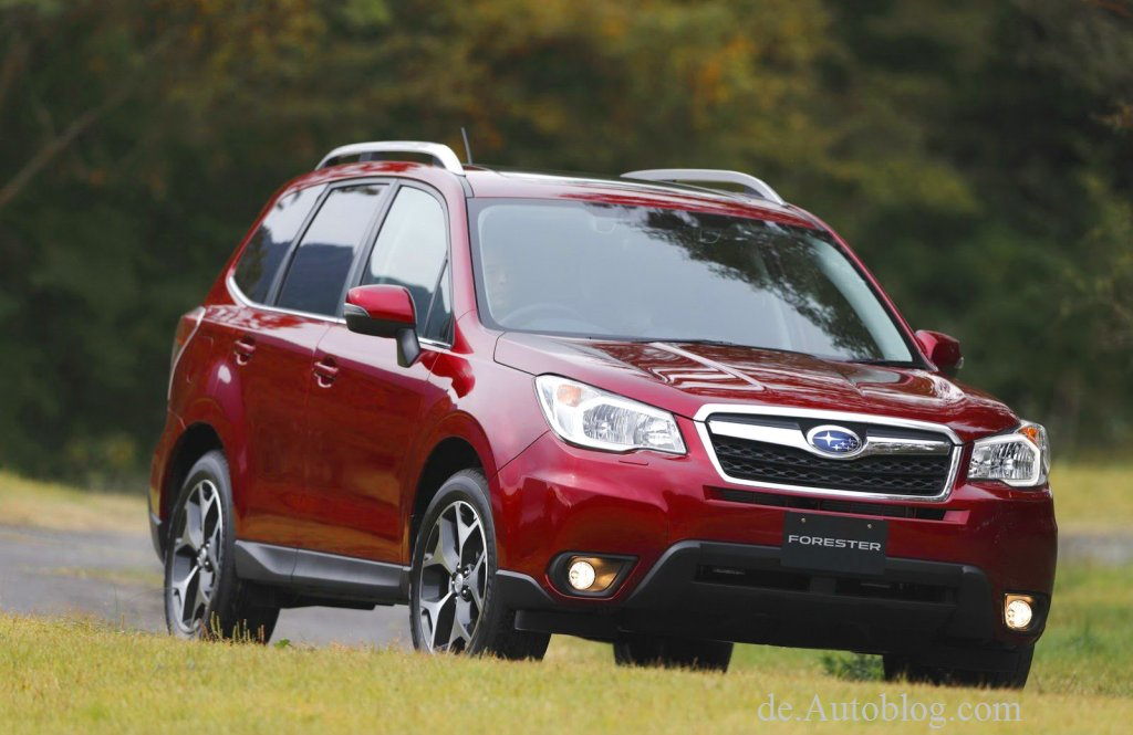 Subaru Forester, der neue Subaru Forester, Subaru Forester 2014, Facelift, vierte generation, Forester, Ausstattung, Fotos, bilder, pics, Subaru, L.A. auto show