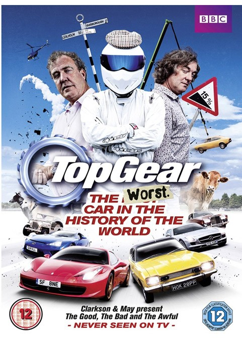 Top Gear, the worst car in The  history of the world, DVD, Trailer,  Jeremy Clarkson, James May, Humor, die schlechtesten Autos der Welt, crash, funny, action, the stig, TV, BBC, Video, komisch, witzig, drift, donuts,