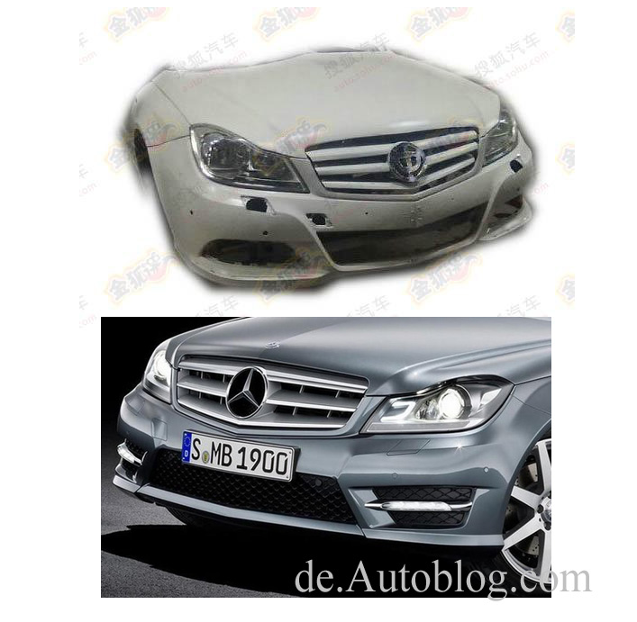China, Kopie, copy, Brilliance, BS&, kopieren, imitieren, plagiat, BS6, BMW, nachbau, Mercedes-Benz, BMW, China Copy, C-Klasse, C-Class, W204