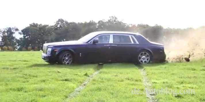 Rolls Royce, Phantom, BMW, Drift, Burnout, Luxuslimousine, Humor, wirtzig, Donuts, Rolls Royce Phantom, Drift Video, Video