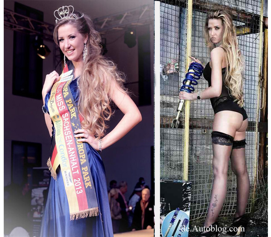 Miss Germany,sexy, ap Girl, ap Sportfahrwerke, Juliane, Juliane Seyffert, Miss Sachsen-Anhalt, 2013,  Wahl, Miss Wahl, Miss Tuning