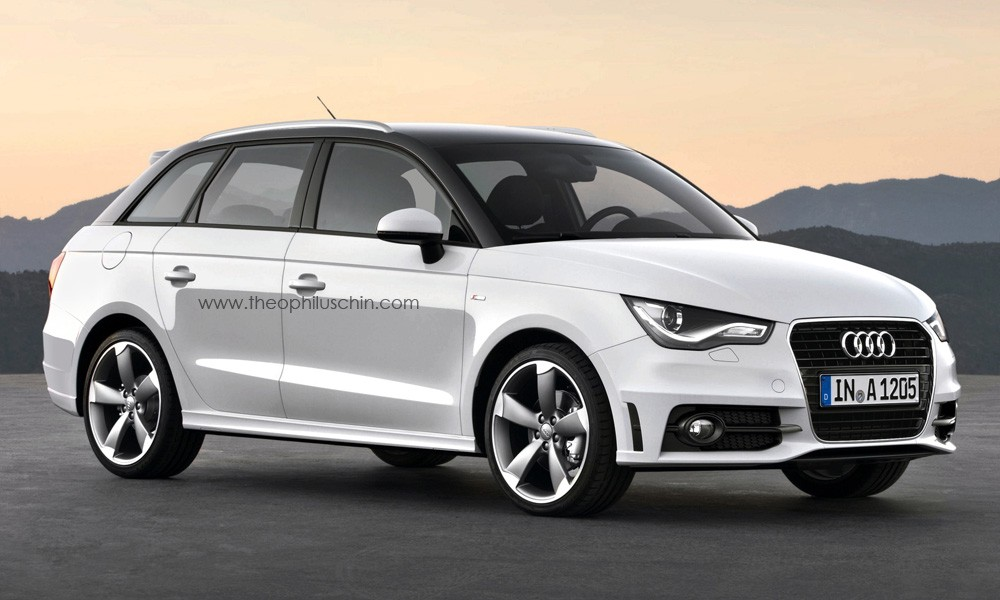 Audi, a1,  avant kombi, audi a1, a1, audi, audi a1, AudiA1, bilder, breaking, designstudie, grafik, limousine, audi a1 avant, audi a1 kombi, audi von morgen, Avant, a1 avant
