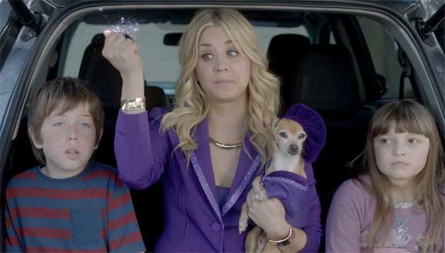 ad, breaking, Commercial, filmstar, Kaley Cuoco, KaleyCuoco, Penny, promo, Super Bowl, super Bowl 2013,  The big Bang Theory, Toyota, TV-Star, endfassung, final cut, funny, komisch, witzig, lustig