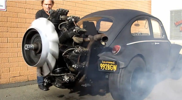 VW Kfer, Panzer, M2, funny, komisch, lustig, video, propeller, VW Beetle, tank, panzermotor, witzig, 