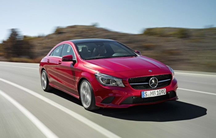Mercedes CLA, CLA Class, CLA Klasse, baby CLA, Detroit, auto shoow, debt, premiere, pics, fotos, bilder, photos, ausstattung, preise, Naias, unveiled