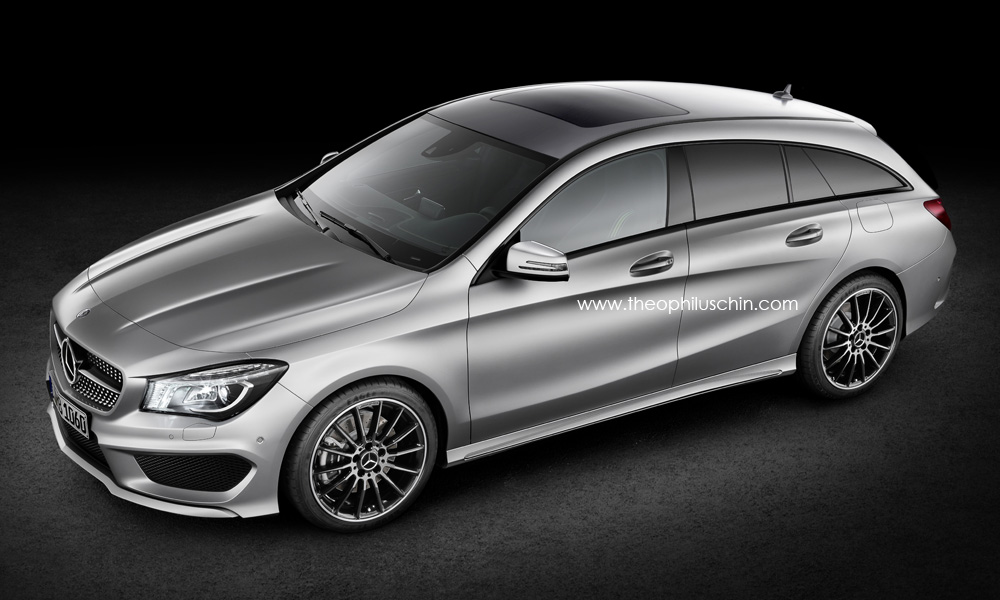 Mercedes-Benz, shooting Brake, Mercedes CLA, CLA shootingbrake, bilder, fotos, mercedes von morgen, zukunft, design, styling, T-Modell, kombi,  