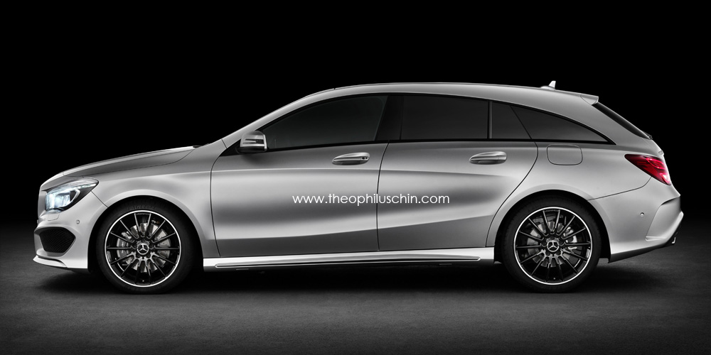 mercedes cla als kombi shooting brake autoblog deutschland. Black Bedroom Furniture Sets. Home Design Ideas