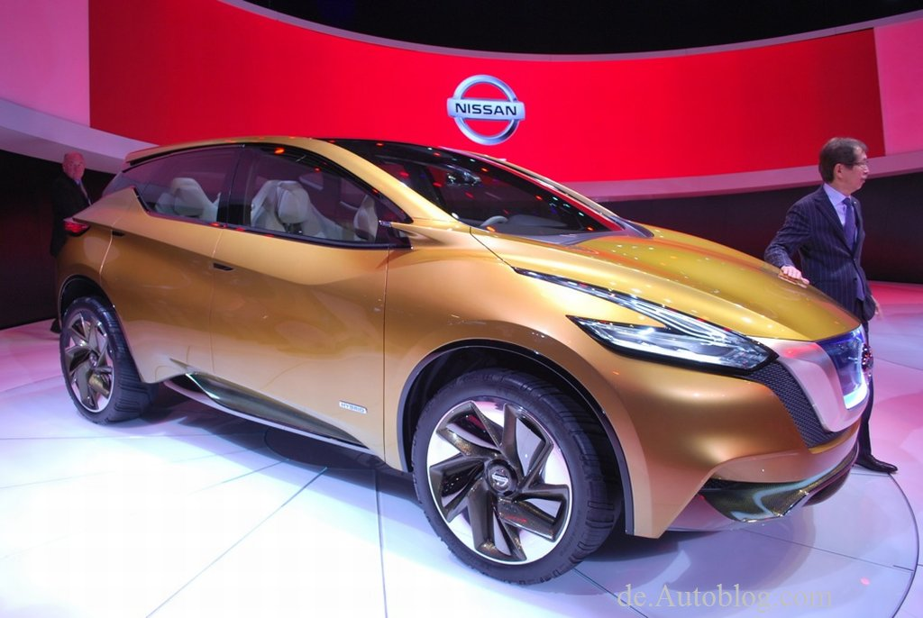 Detroit auto show, NAIAS, Detroit, 2013, Nissan, Murano, Resonance Concept, debt, unveiled, Premiere, Hybrid, SUV, Crossover