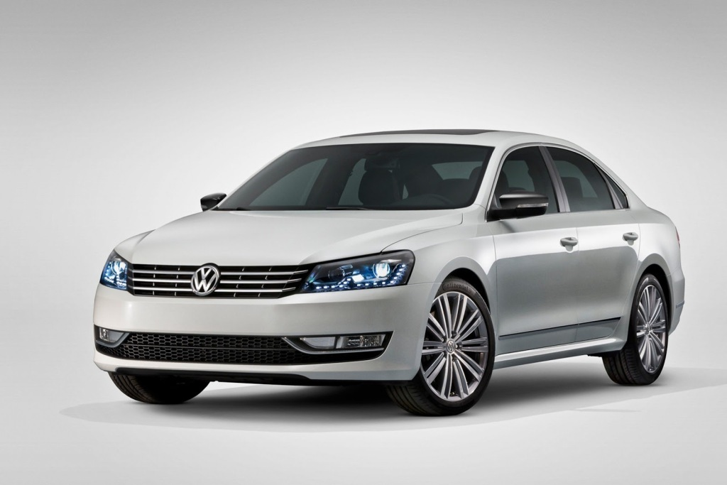VW Passat Performance concept, detroit, 2013, R-Line