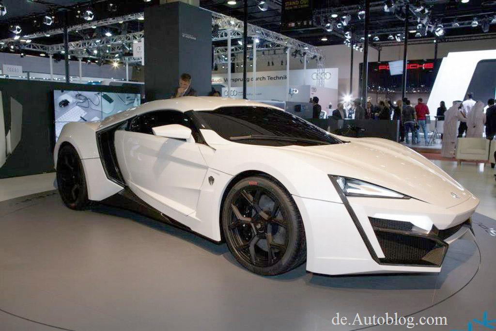 Qatar Motorshow, Lykan Hypersport, W Motors, supersportwagen, Ruf, supercar, sportwagen middel east, beirut, Premiere, erster arabrischer sportwagen