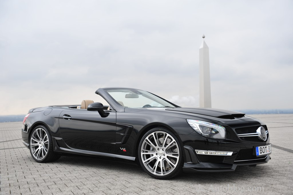 Genf, Auto salon, Genfer Auto salon, Brabus 800 Roadster, Mercedes SL 65 AMG, strkste Roadster der welt, Sportwagen, Super car, Debt, Premiere