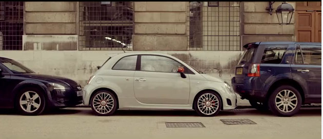 Fiat 500, Durex, Humor, lustig, witzig, komisch, funny, werbung, ad, kondom, sexy, erotisch, abarth, rubber, prservativ, verhtung