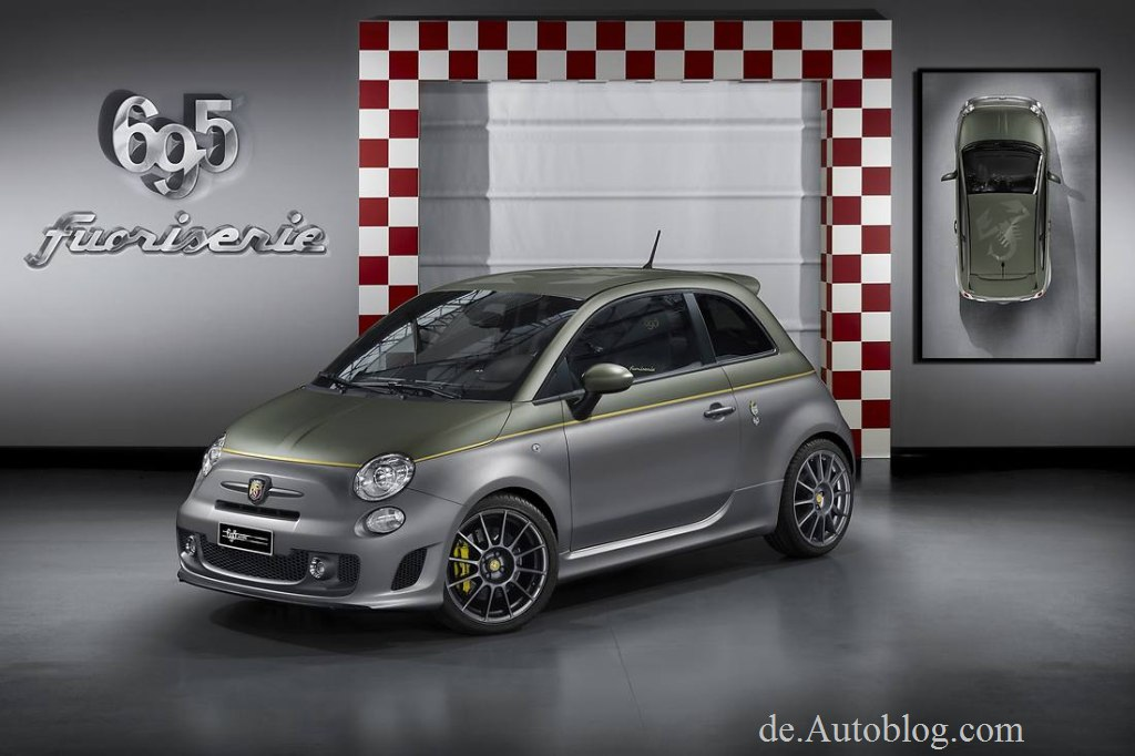 Fiat 500, Fiat 695, Abarth, Fiat Fuori 695, Fuori,  Genf, Genfer Auto salon, Auto salon genf, Tuner, Tuning, premiere, debt, unveiled, Umbai, Styling, Zubehr