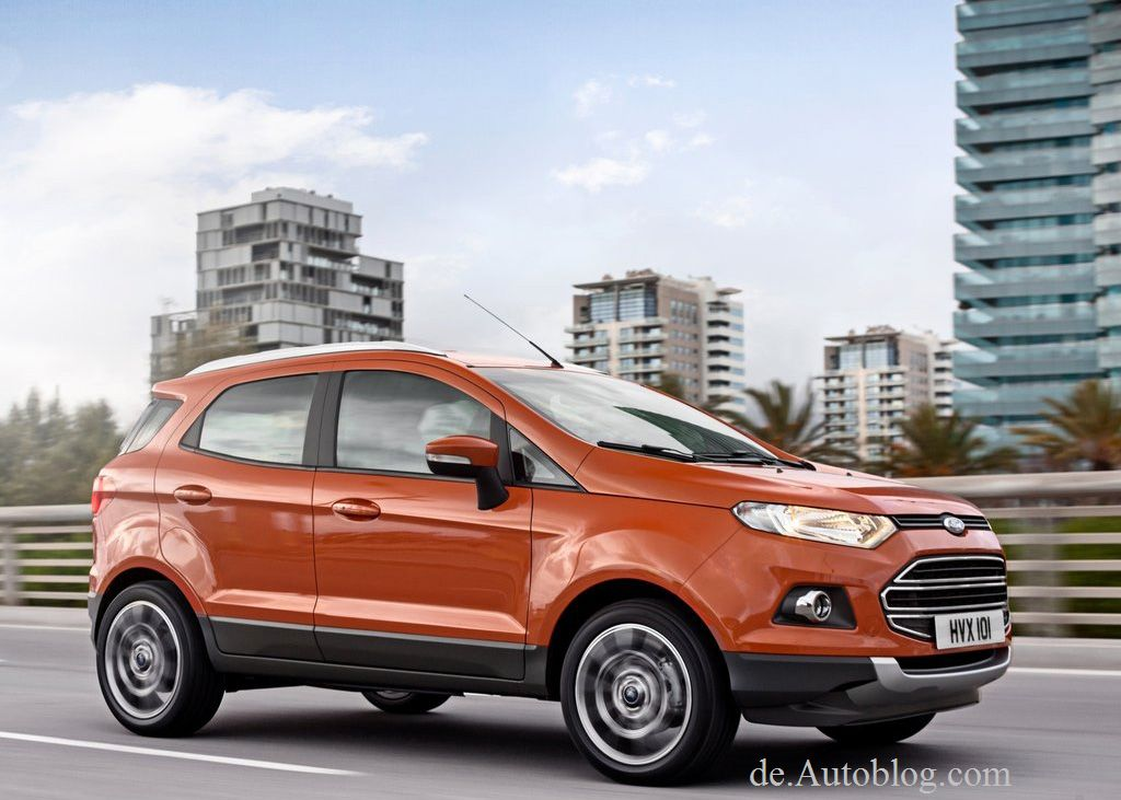 Genf, Geneva, Auto salon, Ford, SUV, kompakt SUV, EcoSport, Ford EcoSport, Ford Eco Sport, Premiere, europa, EU, Fotos