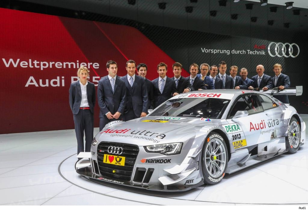Genf, Geneva, Audi, Audi RS 5 DTM, DTM, 2013, Premiere, Debt
