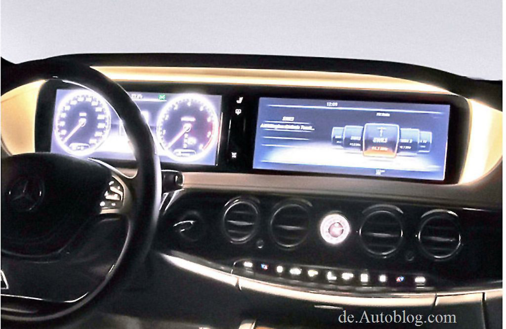 Mercedes benz s klasse 2014 w222 interieur autoblog for Mercedes s interieur