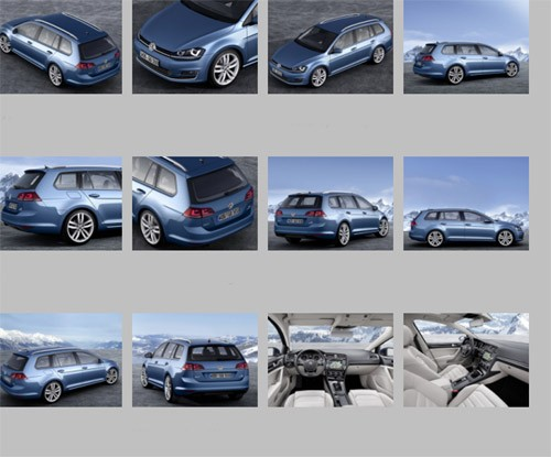 VW Golf VII, VW Golf, VW Golf Variant, VW Golf VII Variant, MK. VII, Offiziell, Debt, Premiere, Auto salon Gen, Genfer Auto salon