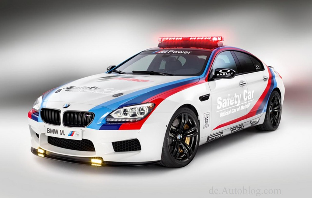 Moto GP, BMW, BMW M6, M6, GranCoup, BMW M6 Gran Coup, Safety Car, Official safety Car, Motorrad, weltmeisterschaft, 2013, Motorsport