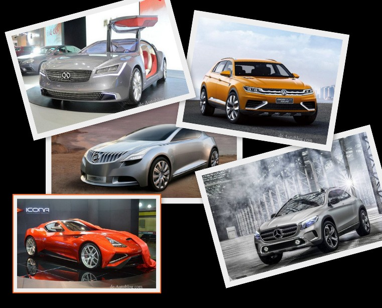 Baic Concept 900, Bucik Riviera, Mercedes GLA, Icona Vulcano, VW Crossblue, Couop, Top 10, die schnsten Autos in Shanghai, Highlights, Auto Shanghai, Shanghai auto show