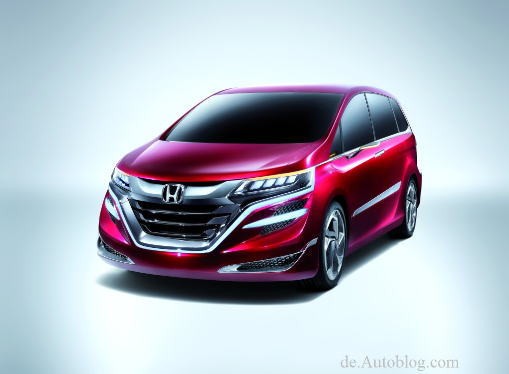 Honda, Concept M, Honda M Concept, MPV, Van, Honda von morgen, autos von morgen, Shanghai Auto show, 2013, Auto shanghai, premiere, debt,  