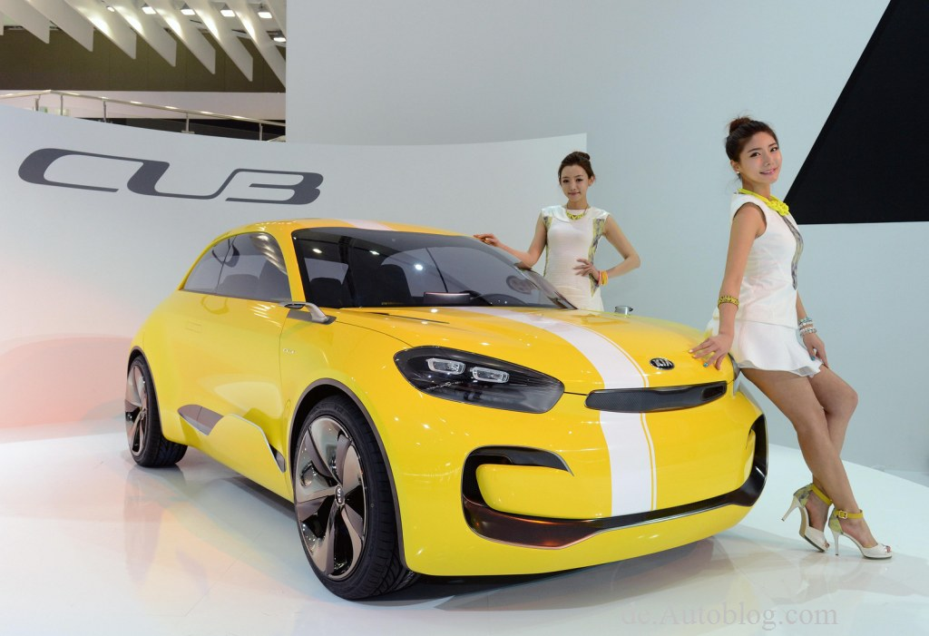 Kia Cub Concept, Kia, Kia Seoul, Cube, Kia concept, Seoul Motor Show, Kia von morgen, autos von morgen, Kia cub