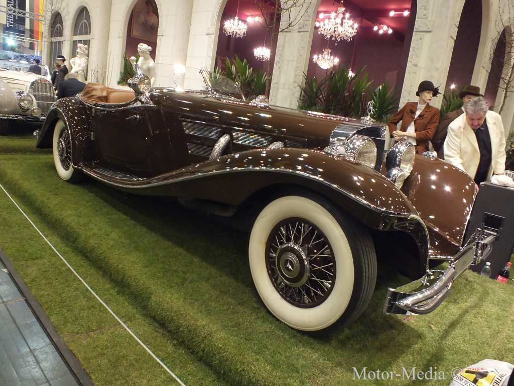 Mercedes-Benz, Techno Classica, 2013, der teuerste Wagen, der seltenste Wagen,  500 K Roadtser, Auto klassiker, Mercedes-Benz classics,  Mercedes 500 K Roadster, Mercedes Klassiker, Oldtimer,der teuerste Oldtimer, der wertvollste Oldtimer  