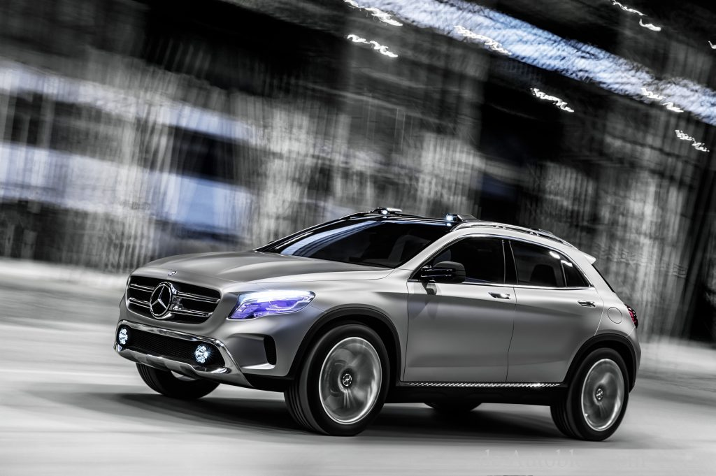 Mercedes-Benz, GLA, GLA Concept, GLA, Kompakt SUV, Mercedes GLA, shanghai auto shanghai, debt, premiere
