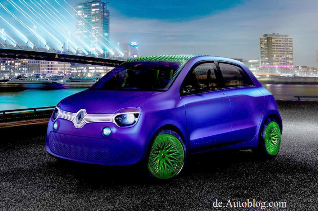 Renault, Twingo, Autos von morgen, Renault von morgen, Twin'z Concept, Twin'z, Twins, der neue Renault Twingo, Erlknig, Studie, Concept, Shanghai auto  Show 