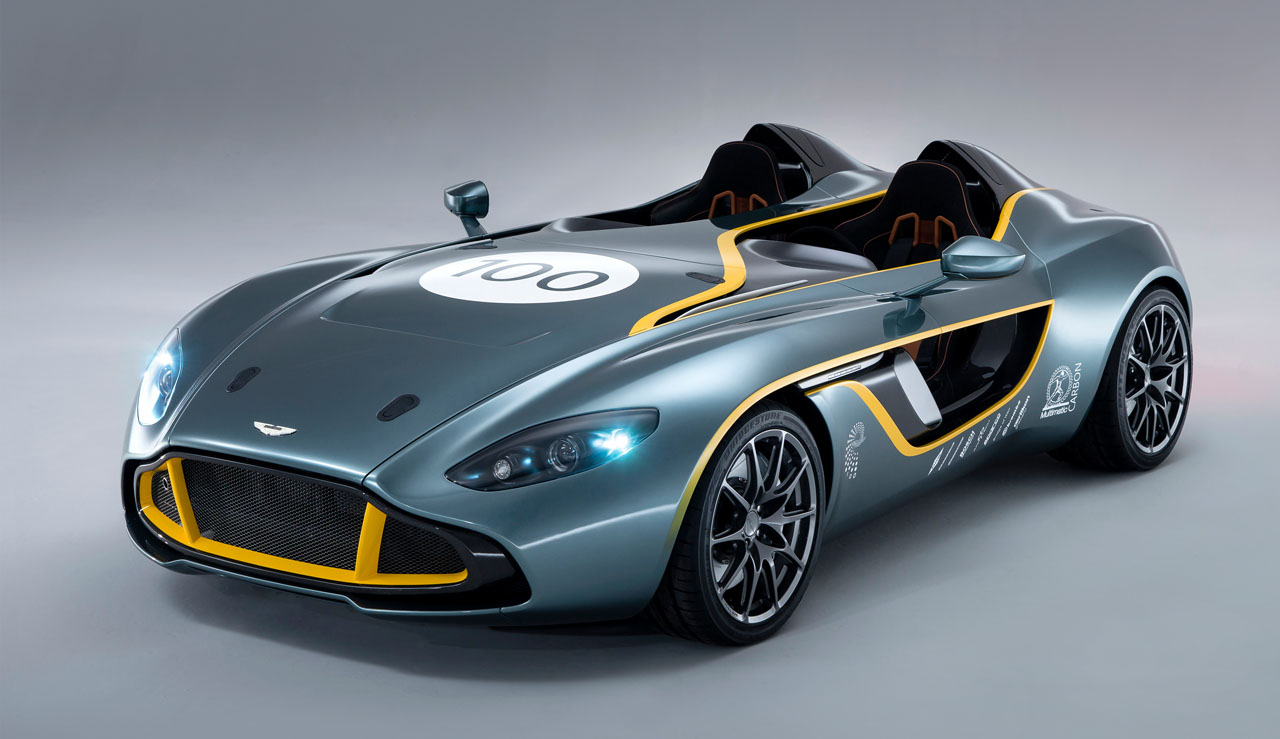 Aston Martin, CC 100 Speedster, DBR1, DB9, 100 Jahre, 24 Stunden Rennen, 24 h rennen, debt, premiere, Jubilumsmodell