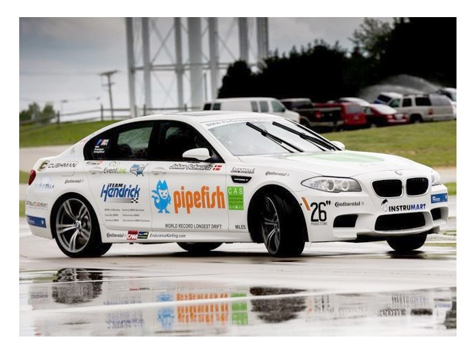 Guinness World Record, BMW, m5, BMW M5, Drift, Weltrekord, Johan Schwartz Guinness Buch der Rekorde, Drift rekord, lngste Drift der welt
