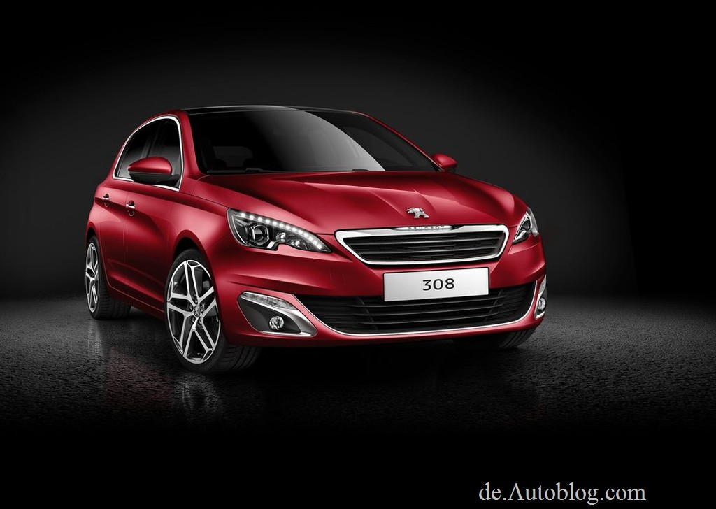 Peugeot 308, Peugeot, der neue Peugeot 308, Peugeot 308 Modelljahr 2014, Facelift, Mopf, EMP2, neue Generation, IAA, FFrankfurt, Bilder, Premiere, 