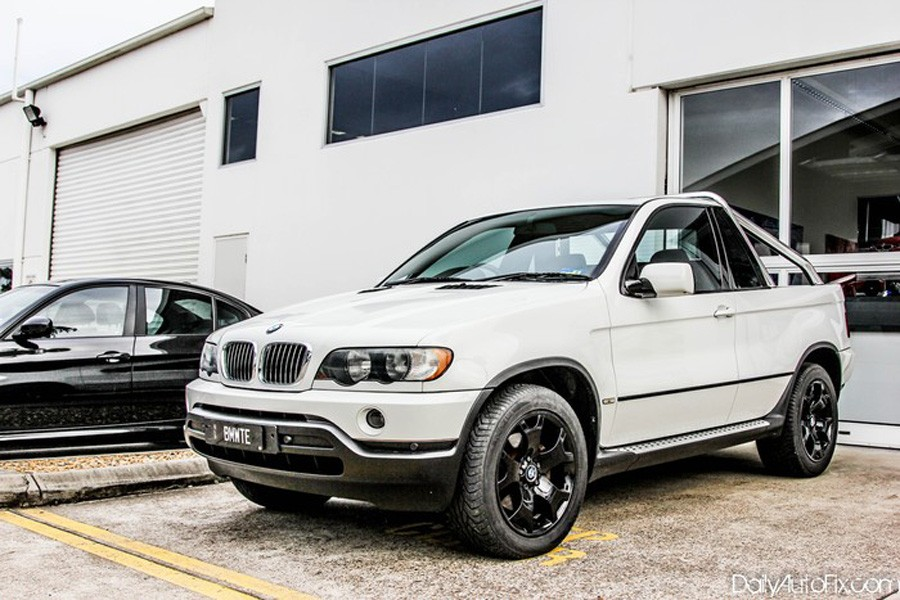 BMW, SUV, Pickup, Pick-up, X5, BMW X5, E53, unikat, umbau, tuner, tuning
