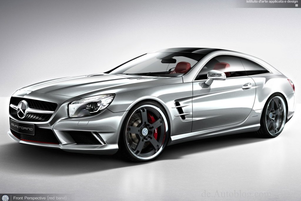 Mercedes-Benz, mercedes von morgen, SL, shooting brake,  SL shooting brake,   Mercedes SL