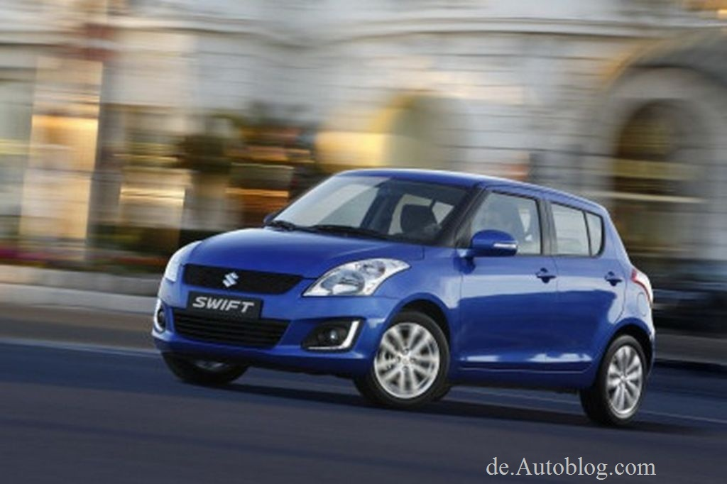 Suzuki, Maruti, Swift, Suzuki Swift, Facelift, mopf,  modellpflege, der neue Suzuki Swift, Suzuki Swift 2014