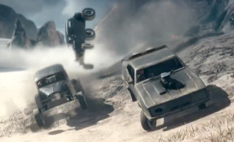Mad Max, Ford Interceptor, Trailer, Game, PV, xbox, PS4, PS3, Play Station