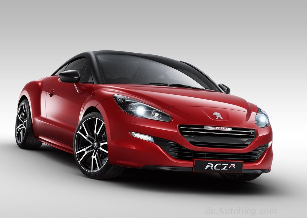 Peugeot RCZ-R, Peugeot RCZ, RCZ-R, Bilder, Fotos, Pics, 2014, Goodwood, festival of speed, durchgesickert, leaked,