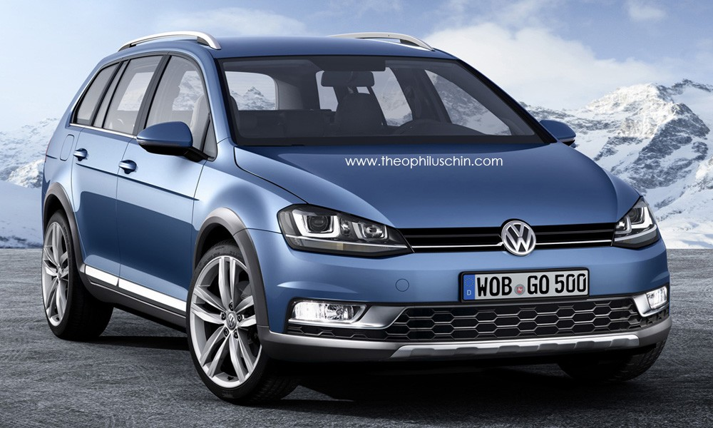 Golf alltrack autos weblog