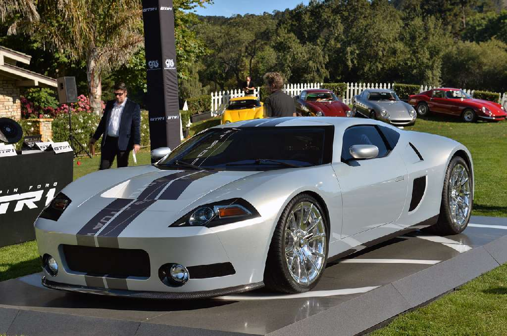 Galpin Auto sports, Galpin Ford GTR1, supersportwagen, supercar,  Concours d'Elegance, Pebble Beach, Biturbo, V8, Carbon, Karbon, Premiere, fotos, photos, pics