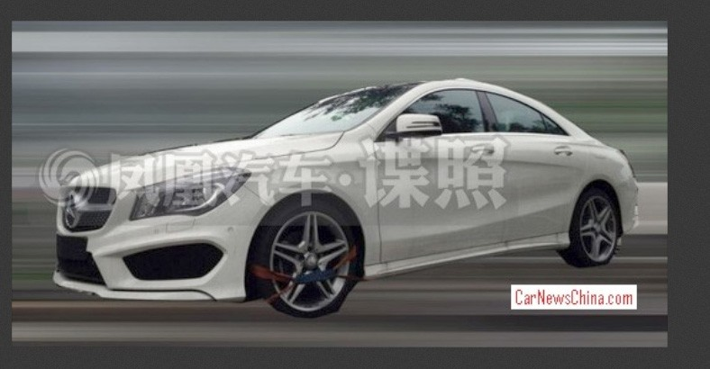langversion, mercedes-Benz, cla, Mercedes CLA langversion, video, china, verlängerter Radstand, erlkönig, Mercedes CLA
