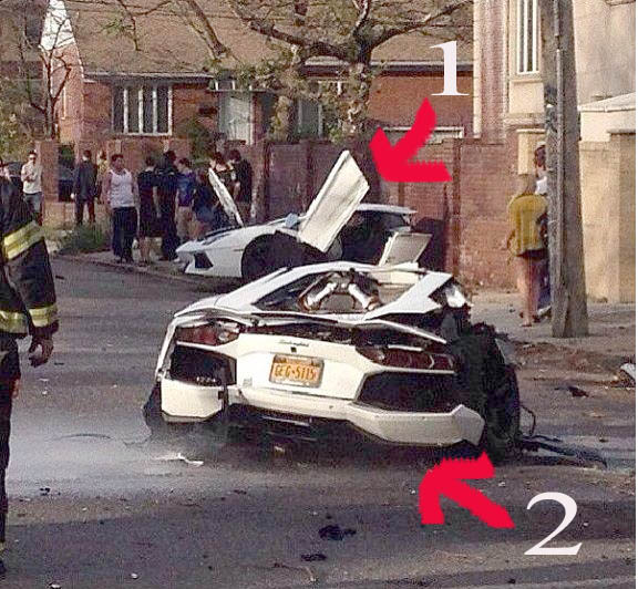 Lamborghini, crash, unfall, video, horror carsh, unfall, sportwagen
