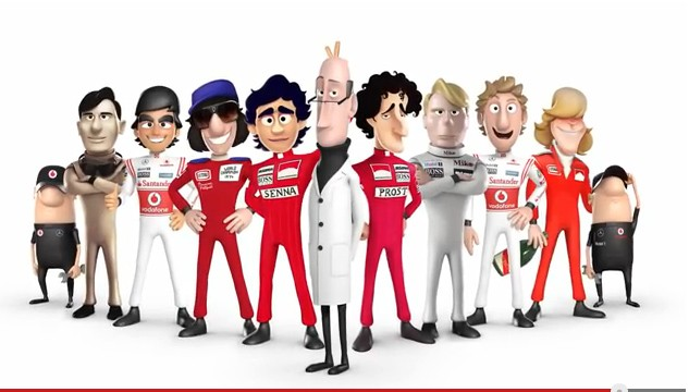 McLaren, Tooned, comic, trickfim, animationsfilm, video, lustig, funny, komisch, witzig tooned 50