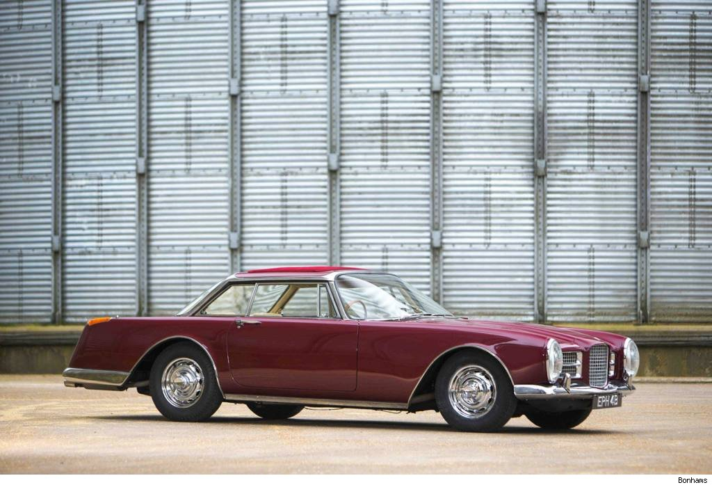 FV, Facel Vega, Facel Vega II, Auction, Versteigerung, Auktion, Ringo Starr, The Beatles, Vip, promi,